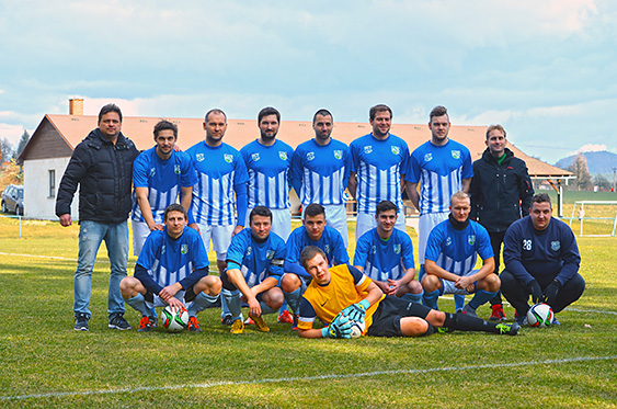 FC Jenišovice A team 2016
